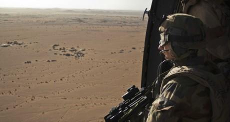 Soldat français, Nord-Mali, mars 2013 / REUTERS