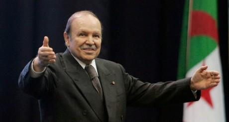 Abdelaziz Bouteflika, Oran, février 2009 / REUTERS