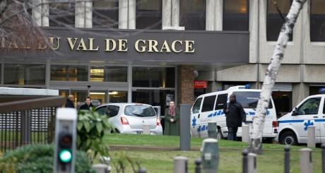 L'hôpital parisien du Val-de-Grâce où est interné Bouteflika,  janvier 2012 / REUTERS