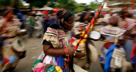 Danse rituelle vaudou, Plain du Nord, Haïti, juillet 2010 / REUTERS