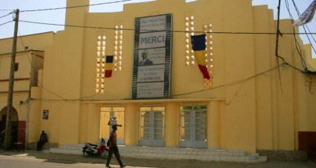 Un bâtiment de N'djaména, tchad, février 2011 / AFP