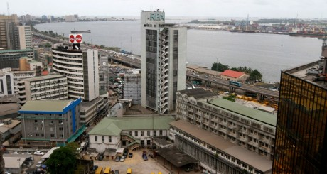 Une vue de Lagos, Nigeria, avril 2013 / Reuters