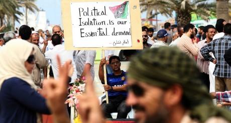 Manifestation de soutien à la loi votée par le GCN, Tripoli, 5 mai 2013 / AFP