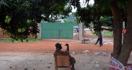 Un membre du Séléka, Bangui, avril 2013 / AFP