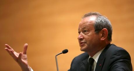 Naguib Sawiris, Beyrouth, juin 2010 / REUTERS