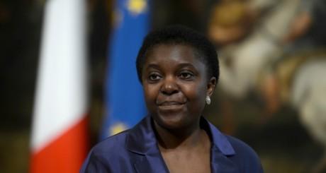 Cécile Kynege Kashetu, Rome, 30 avril 2013 / AFP
