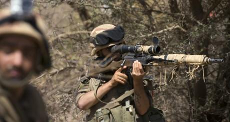 Soldats français à Gao, avril 2013 / AFP