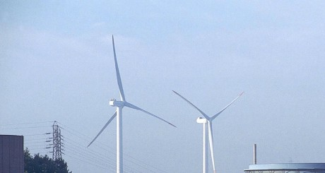 centrale éolienne / AFP