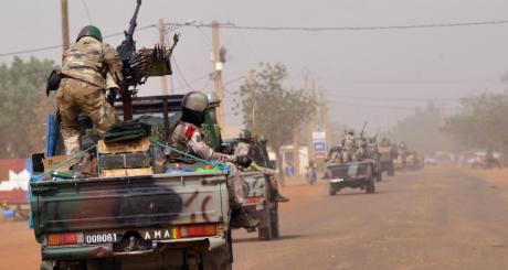 Des troupes de la Misma à Gao, janvier 2013 / AFP