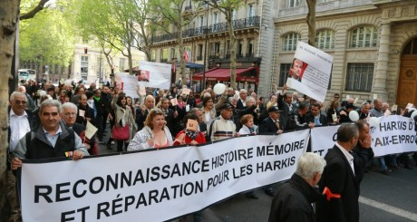 Manifestation de harkis, Paris, 12 mai 2013 / AFP