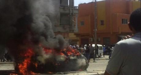 Explosion d'une voiture piégée, Benghazi, 13 mai / Newsbreaker