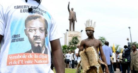 Commémoration du 42e anniversaire de la mort de Lumumba, janvier 2013 / AFP