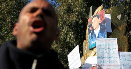 En 2011, Mohammed Bouazizi s'était immolé par le feu, à Sidi Bouzid / REUTERS