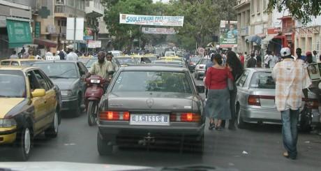 Une rue de Dakar / Flickr CC