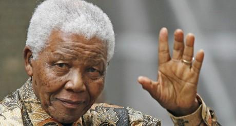 Nelson Mandela, photo prise en 2007 (Londres) © Leon Neal / AFP