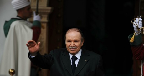 Abdelaziz Bouteflika, à Alger, 14 janvier 2013 / AFP