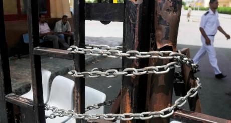 Un passage commercial entre l'Egypte et Israël bloqué le 19 mai 2013 / REUTERS
