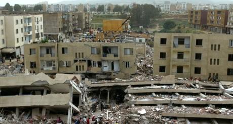 Bourmerdès, après le séisme du 21 mai 2003 / REUTERS