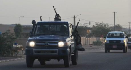 Patrouille de l'armée nigérienne à Agadez, septembre 2010 / AFP