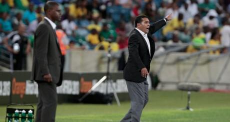 Rachid Taoussi, pendant la CAN 2013, en Afrique du Sud / REUTERS