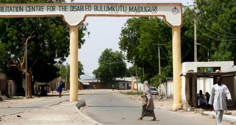 L'entrée de Maiduguri, nord du Nigeria, fief de Boko Haram / REUTERS