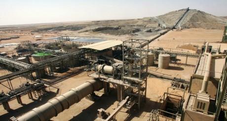 Les installations de la Somaïr près desquelles a eu lieu l'attentat d'Arlit / AFP