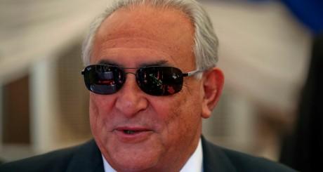 Dominique Strauss-Kahn au Soudan du Sud le 14 mai 2013.