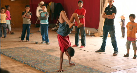 Atelier de danse à Rabat / REUTERS