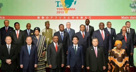 Photo de groupe des dirigeants lors de la Ticad V / REUTERS