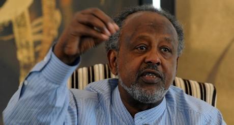 Le président djiboutien Ismail Omar Guelleh, Djibouti, le 7 avril 2011. SIMON MAINA / AFP