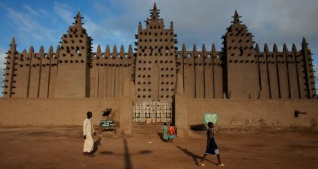 Grande mosquée de Djenné, le 7 septembre 2012. REUTERS/Joe Penney.