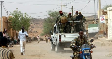 Patrouille de l'armée malienne à Kidal, mai 2006 / AFP