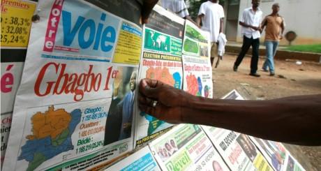 Journaux ivoiriens / REUTERS