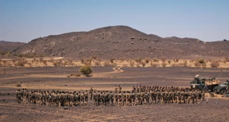 Soldats français, près de Tessalit, mars 2013 / Reuters