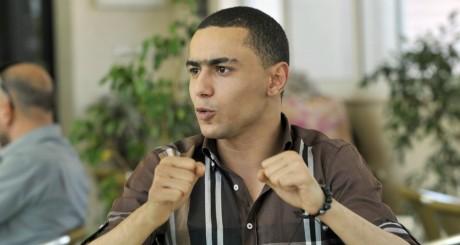 Le rappeur Weld El 15 avant son procès, le 13 juin 2013 / AFP
