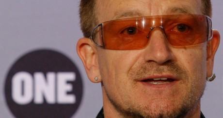 Bono, du groupe U2. REUTERS/Benoit Tessier