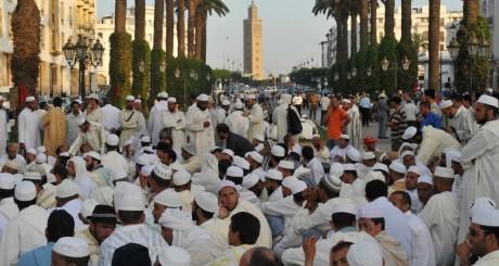 Manifestations des imams du Maroc, Rabat, juin 2011 / AFP