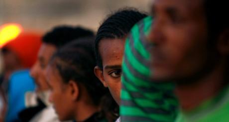 Migrants, Malte, le 6 octobre 2009 . REUTERS/Darrin Zammit Lupi