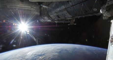 Vue de la Terre depuis l'International Space Station, 2013 / REUTERS