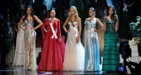 Finalistes du concours Miss Univers en 2012 / REUTERS
