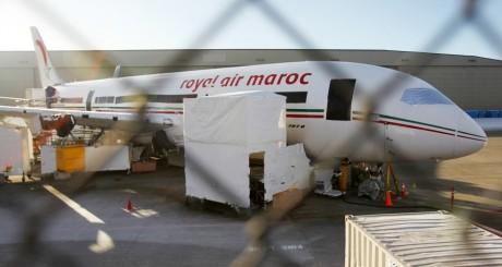 Avion de la compagnie Royal Maroc, le 17 janvier 2013. REUTERS/Anthony Bolante