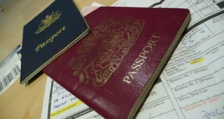 Passeports et demande de visa / Flickr CC