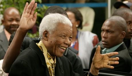 Nelson Mandela, Houghton, Afrique du Sud, avril 2009 / Reuters