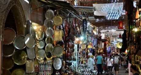 Un souk de Marrakech, by Morio60 via Flickr CC.