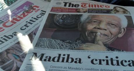 Unes de quotidiens sud-africains, 24 juin 2013 / AFP
