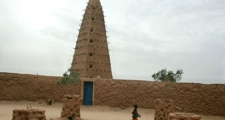 La mosquée d'Askia, Agadez, Niger / AFP