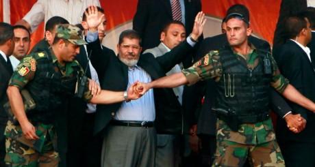 Mohamed Morsi lors de sa victoire à l'élection présidentielle le 29 juin 2012. REUTERS/Amr Abdallah