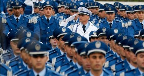 Cérémonie de remise des diplômes à l'école de police, Alger, 2012 / REUTERS