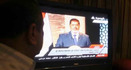 Allocution télévisée de Mohammed Morsi, juin 2012 / Reuters
