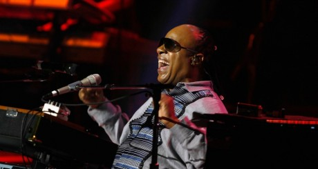 Stevie Wonder en concert, décembre 2012 / Reuters